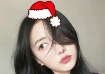 微信朋友圈圣诞帽怎么弄