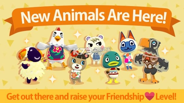 《动物之森口袋营地》新增七名同伴角色