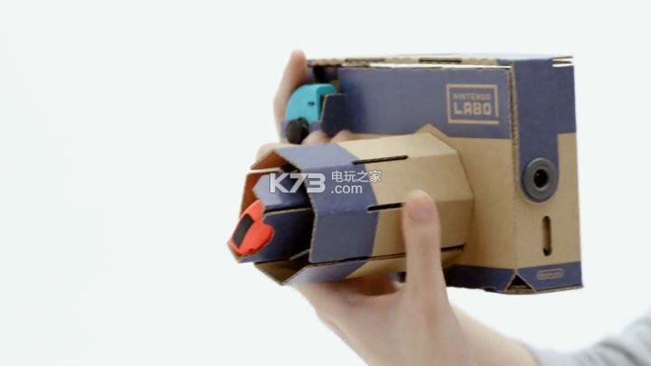 圖解Nintendo Labo的各項好玩功能是怎樣實現的