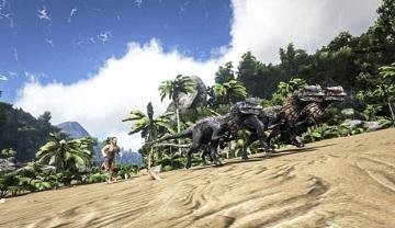 《方舟生存進化》確認登錄NS!將成Switch畫質最高游戲