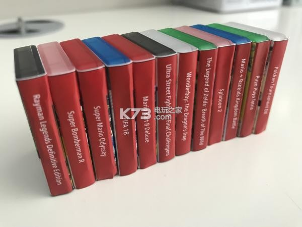 玩家打造任天堂Switch游戏卡带超迷你包装盒