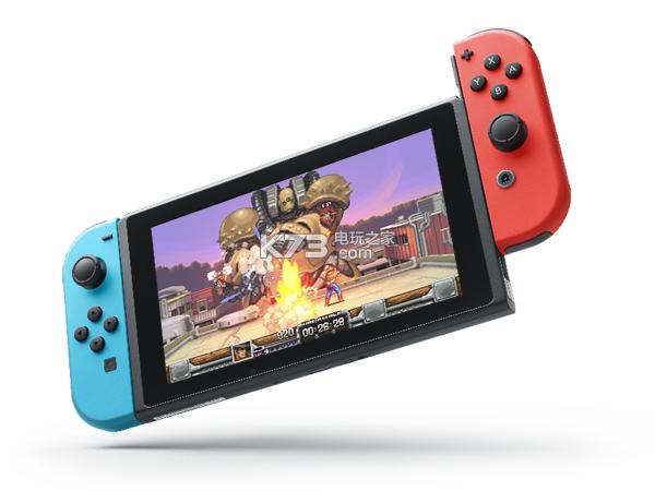 《狂野神枪重装上阵》登陆任天堂Switch平台