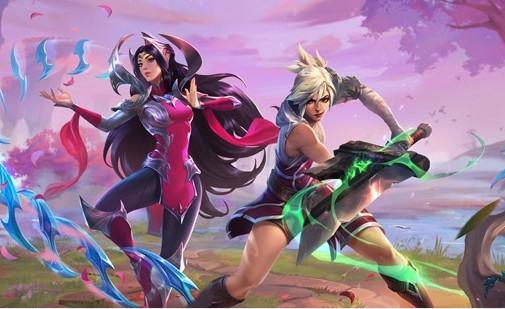 《英雄聯盟手游》2.3版本更新 伊瑞莉雅、雷玟、姍娜參戰