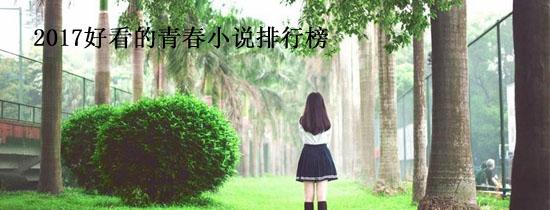 2017好看的青春小说排行榜