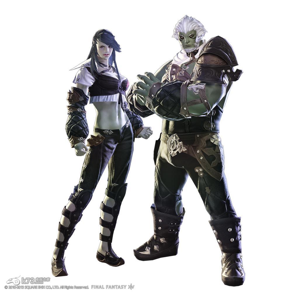 最终幻想14重生新服装及种族截图
