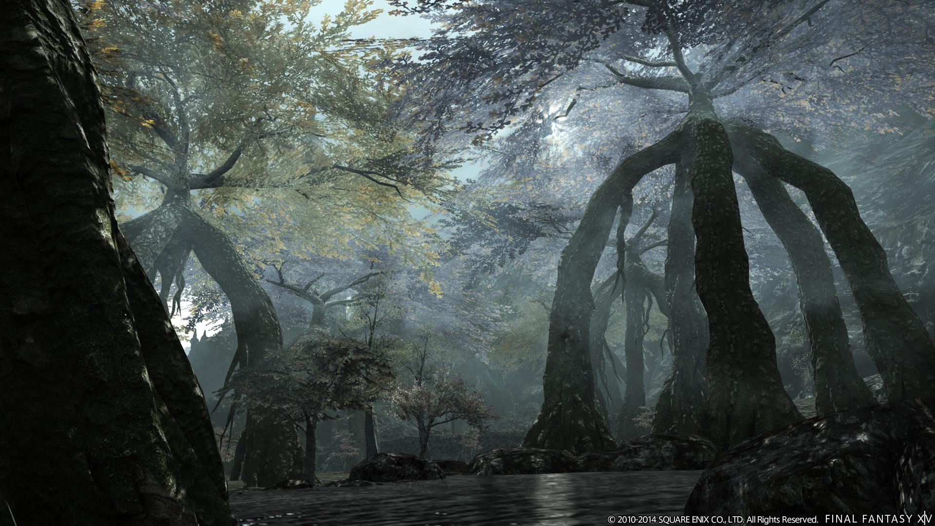 《最终幻想14》3.0版资料片实机&原画截图