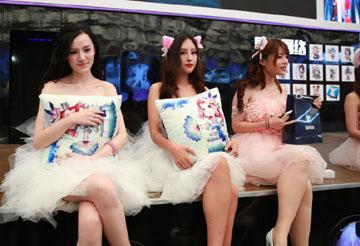 Chinajoy 2015参展showgirl图集