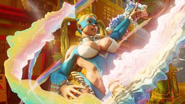 《街头霸王5》レインボー・ミカ实机截图公开