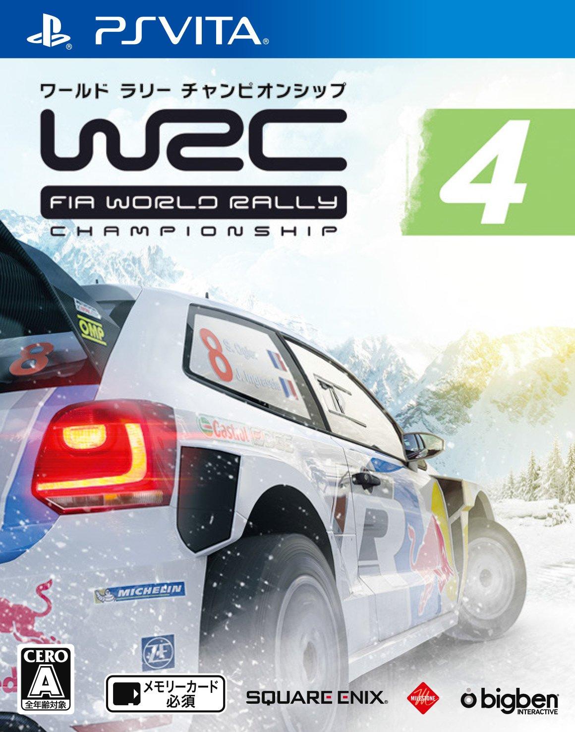 WRC4 FIA世界汽车拉力锦标赛 日版下载