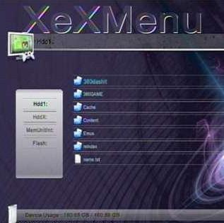 xbox360自制XEXMENU汉化版下载 XEXMENU