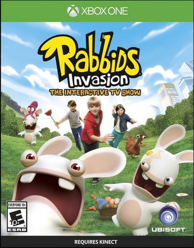 [Xbox One]疯兔入侵美版预约 Rabbids Invasion预约