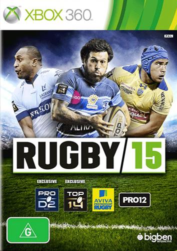 [Xbox360]xbox360 世界杯橄榄球赛15美版下载 Rugby15下载