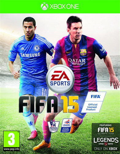 FIFA 15 娆х��涓�杞�