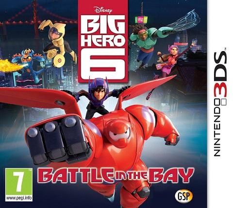 [3DS]3ds 迪斯尼超能陆战队 天空之战欧版预约