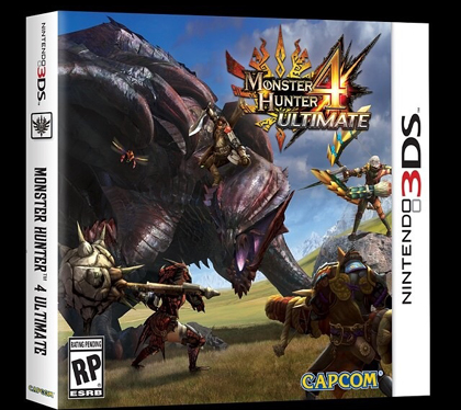[3DS]怪物猎人4g美版v1.1补丁下载 怪物猎人4u升级补丁