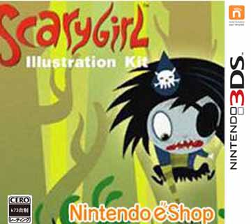 [3DS]3ds 恐怖少女绘图装备美版下载【3DSWare】