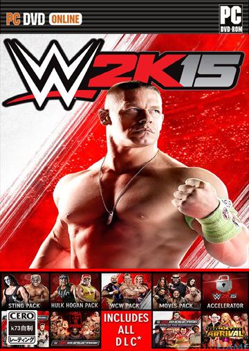 美国职业摔角联盟2K15 免安装破解版下载