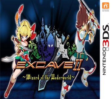 [3DS]Excave2 冥界向导50层塔通关存档