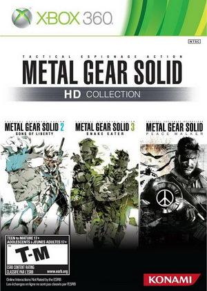 [Xbox360]合金装备HD收藏版欧版