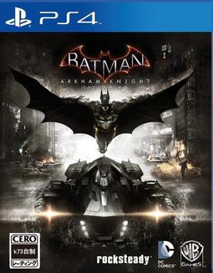 [PS4]蝙蝠侠阿甘骑士日版预约