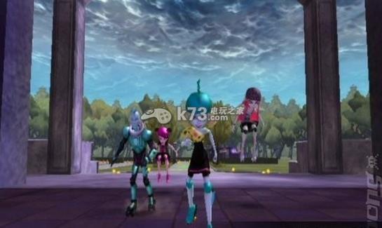 精灵高中 溜冰滚动迷宫 美版下载 截图