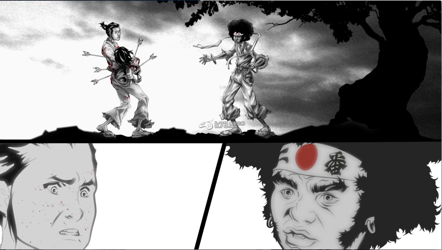 《爆炸头武士2:库玛复仇(afro samurai 2: revenge of kuma )》首支