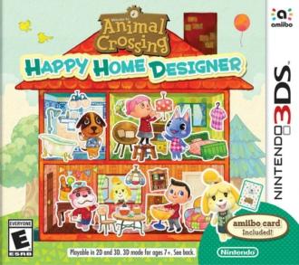 [3DS]3ds 动物之森快乐房屋设计师美版下载