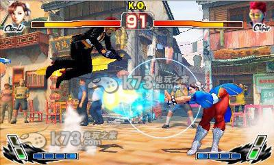 《超级街霸4 3d》是capcom旗下经典格斗游戏《超级街霸4》在3ds平台