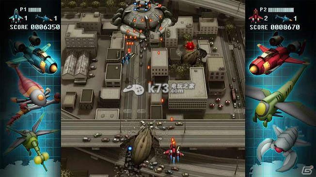 游戏名称:Fullblast 英文名称:Fullblast 游戏语言:英文 开发厂商:賈船 发行厂商:賈船 发售日期:2015-11-25 游戏容量: 游戏类型:射击类 《Fullblast》是一款操纵战斗机从外星人的进攻中守护地球的一款竖版射击游戏,有着非常浓厚的《雷电》风格,同时本作还支持2人联机,玩家可以与伙伴共同抵抗外星人。