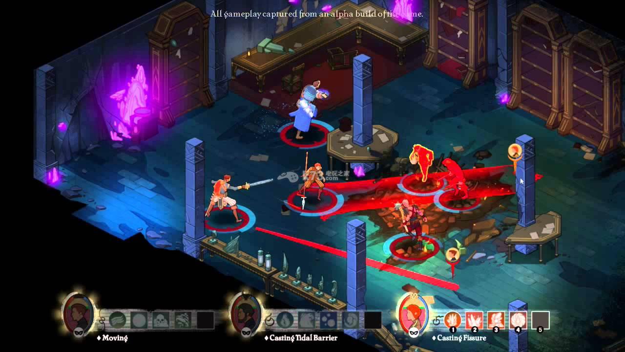 游戏的核心设计和《龙腾世纪》以及《博德之门》类似,游戏中可以让