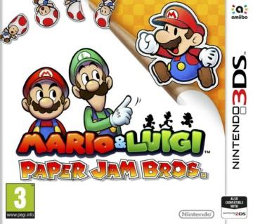 [3DS, New 3DS]3ds 马里奥与路易RPG卡纸欧版下载 马里奥与路易RPG纸片马里奥欧版CIA下载