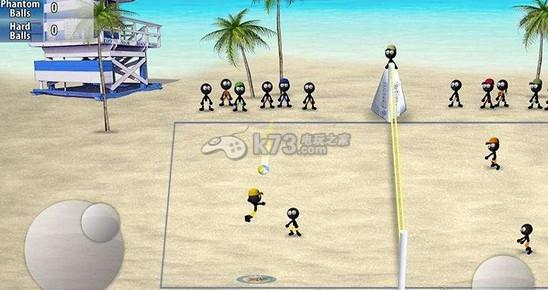 火柴人排球  游戏截图 游戏介绍: 《火柴人排球》是一款以排球运动为