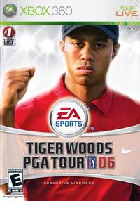 xbox360 泰戈伍兹高尔夫PGA巡回赛06日版预约