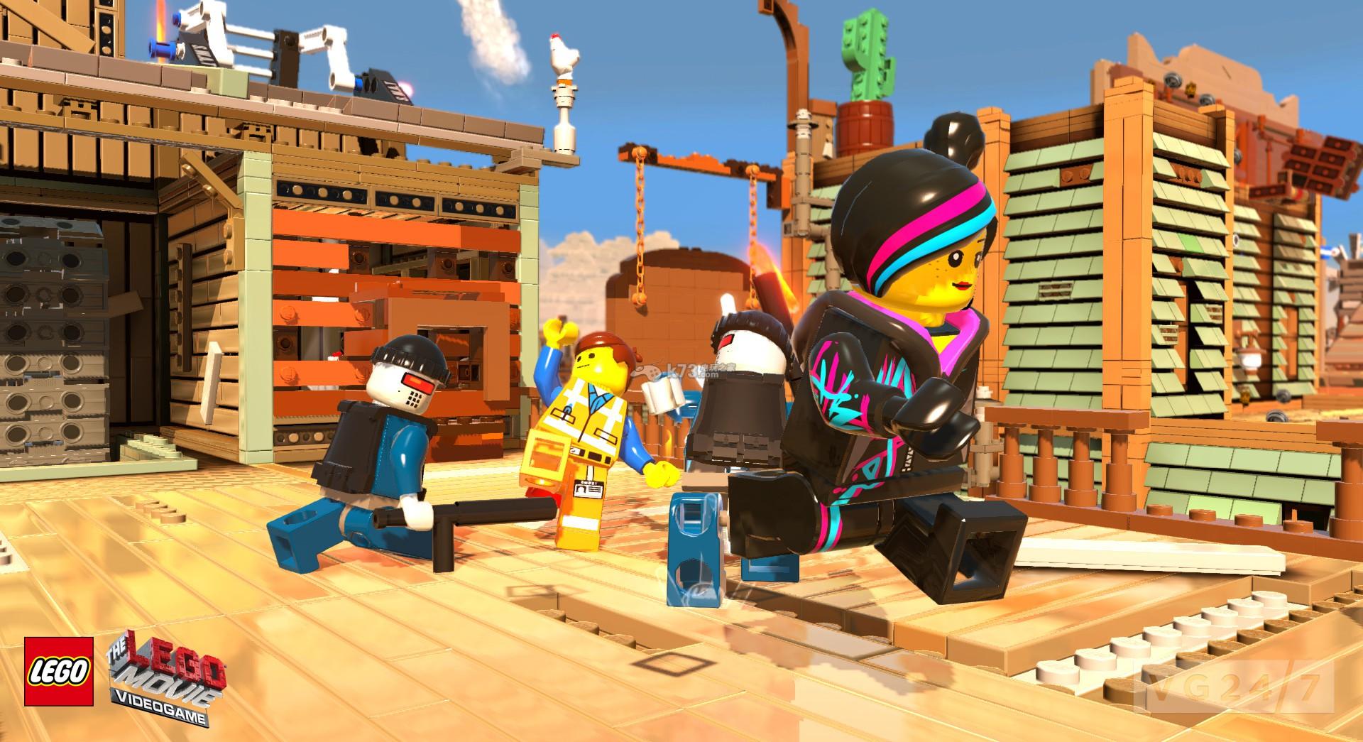 英文名称:The LEGO Movie Videogame 游戏语言:欧洲语言 开发厂商:TT Games 发行厂商:Warner Bros. Interactive Entertainment 发售日期:2014-2-14 游戏容量:4.52GB 游戏类型:动作类 在《乐高大电影游戏版》这款游戏里面,一共设置了15个关卡,相对来说关卡的数量还是比较多的,不仅如此,在游戏里面,玩家可以操纵的角色多达90个,所以说本作还是非常耐玩的。 将掌机作品和家用机同名作品进行比较可能并不公平,尤其是在两款游戏的游戏性