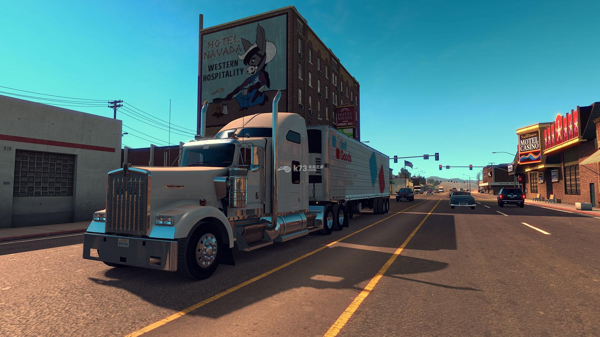 美国卡车_美国卡车模拟美版预约 -k73电玩之家