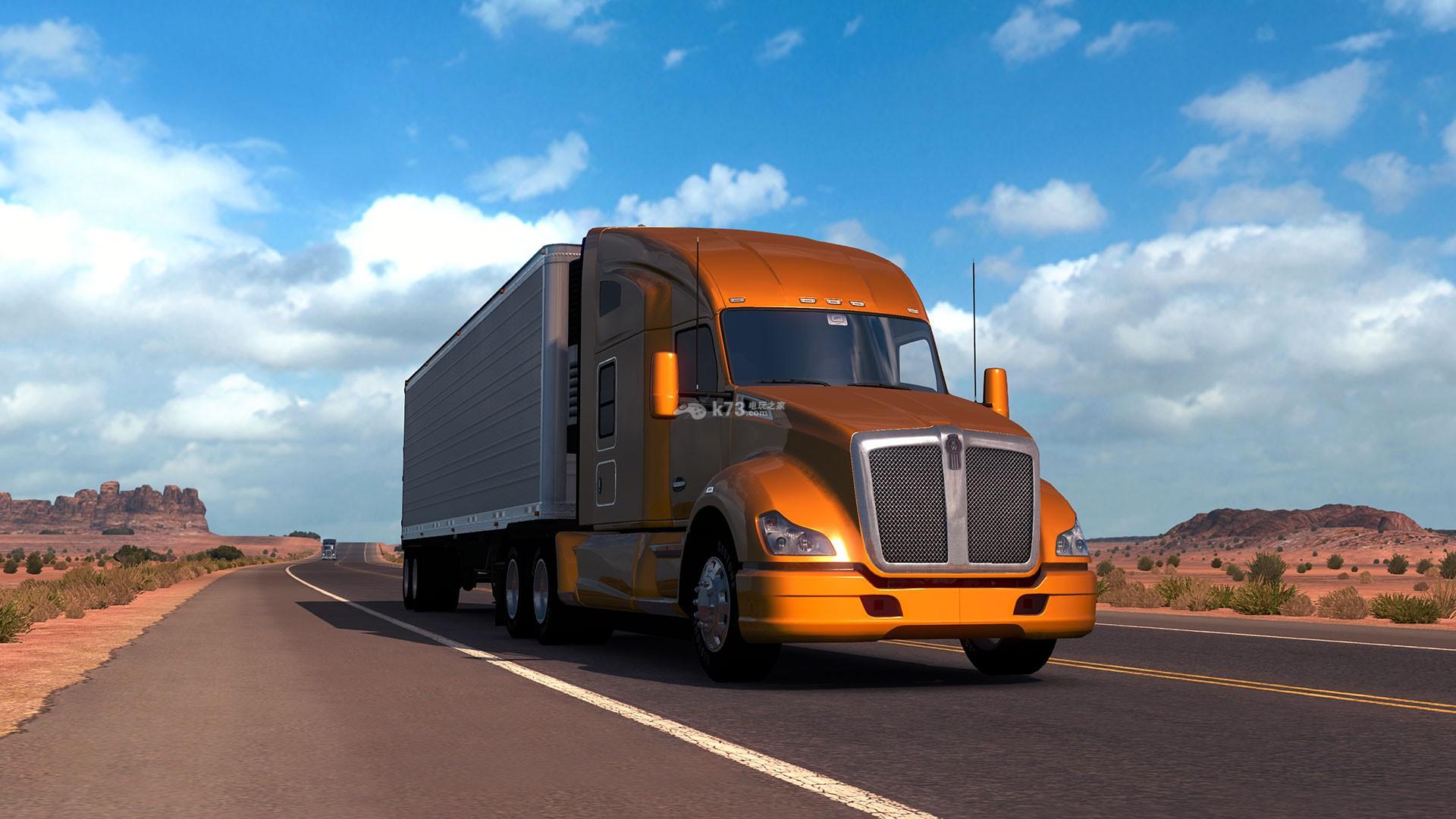 《美国卡车模拟》是一款SCS Software打造推出的体验最具传奇色彩的美国卡车在美国进行输送各种货物的模拟游戏,本作中玩家在卡车行驶过程中沿途的各种美丽风景以及美国当地标志性建筑。游戏收录了全世界各种的卡车车型,玩家还可以通过照片模式对游戏的精彩瞬间进行捕捉。 由于PS4主机尚未完全破解(ps4最新破解动态),本站暂时只提供游戏相关资料。