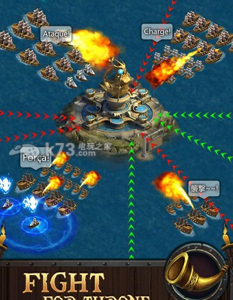 的游戏世界中,玩家可以在海洋的各个小岛发展自己的势力,听过模拟经营