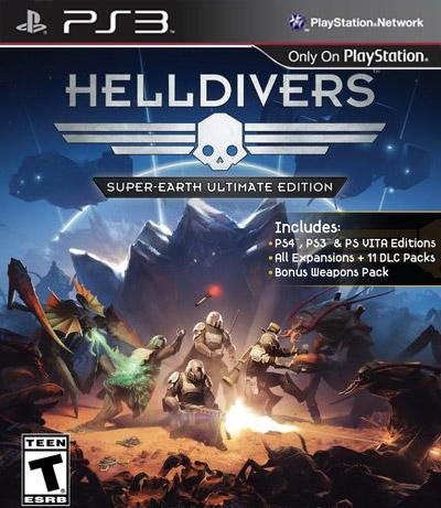 [PS3]ps3 绝地战兵 超级地球究极版美版预约