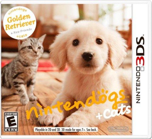 [3DS, New 3DS]任天猫狗黄金猎犬与新伙伴欧版gw金手指下载