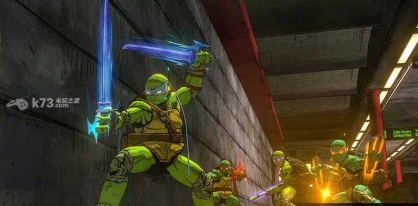 忍者神龟曼哈顿变种 美版 截图