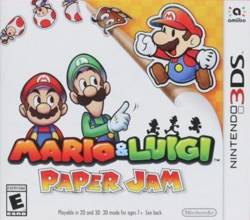 马里奥与路易RPG卡纸 美版下载
