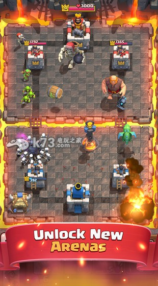 部落冲突皇室战争 v3.2.4 无敌版 截图