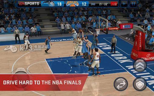 NBA live手机版 v2.4.0 内购破解版下载 截图
