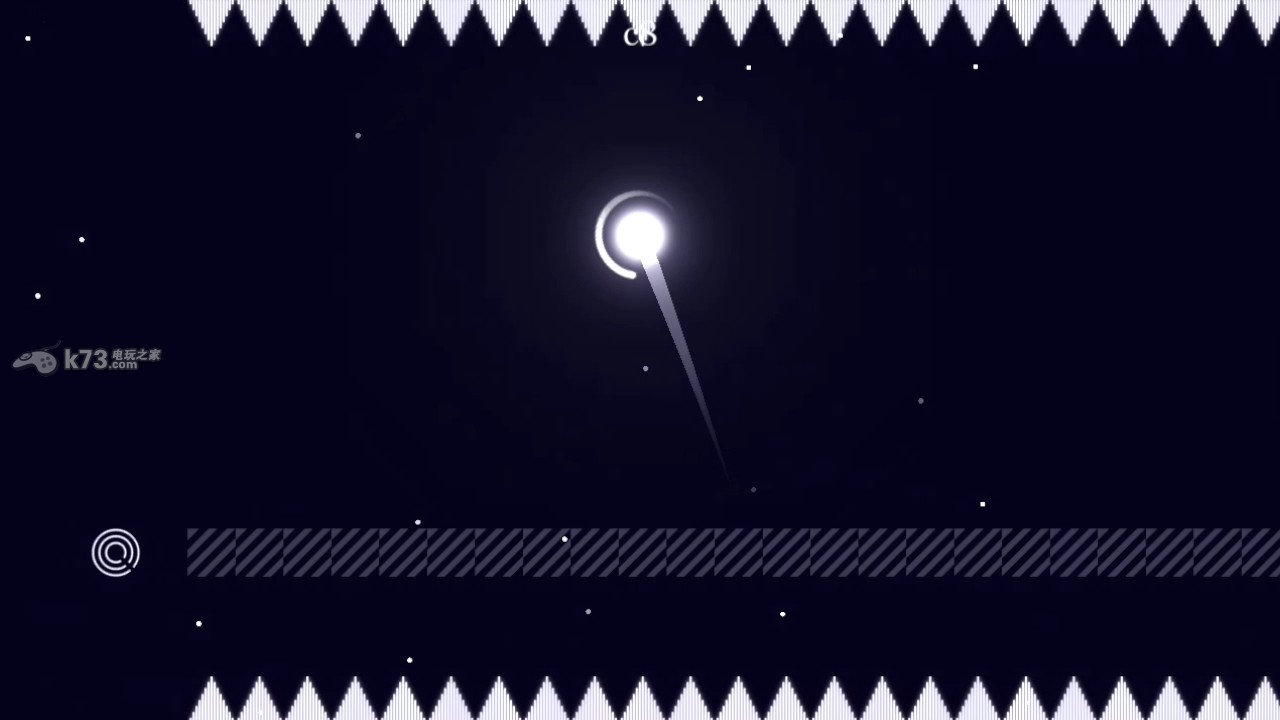 《月球6180(6180 the moon)》是Turtle Cream制作的2D动作解谜类游戏,游戏曾今登录PC平台经过优化后重新发布在wiiu上。游戏采用了十分清新脱俗的画风,用简单的线条勾勒出一个个光怪陆离的游戏场景,玩家操作小球在复杂的迷宫中不断地解谜向前直到通关。