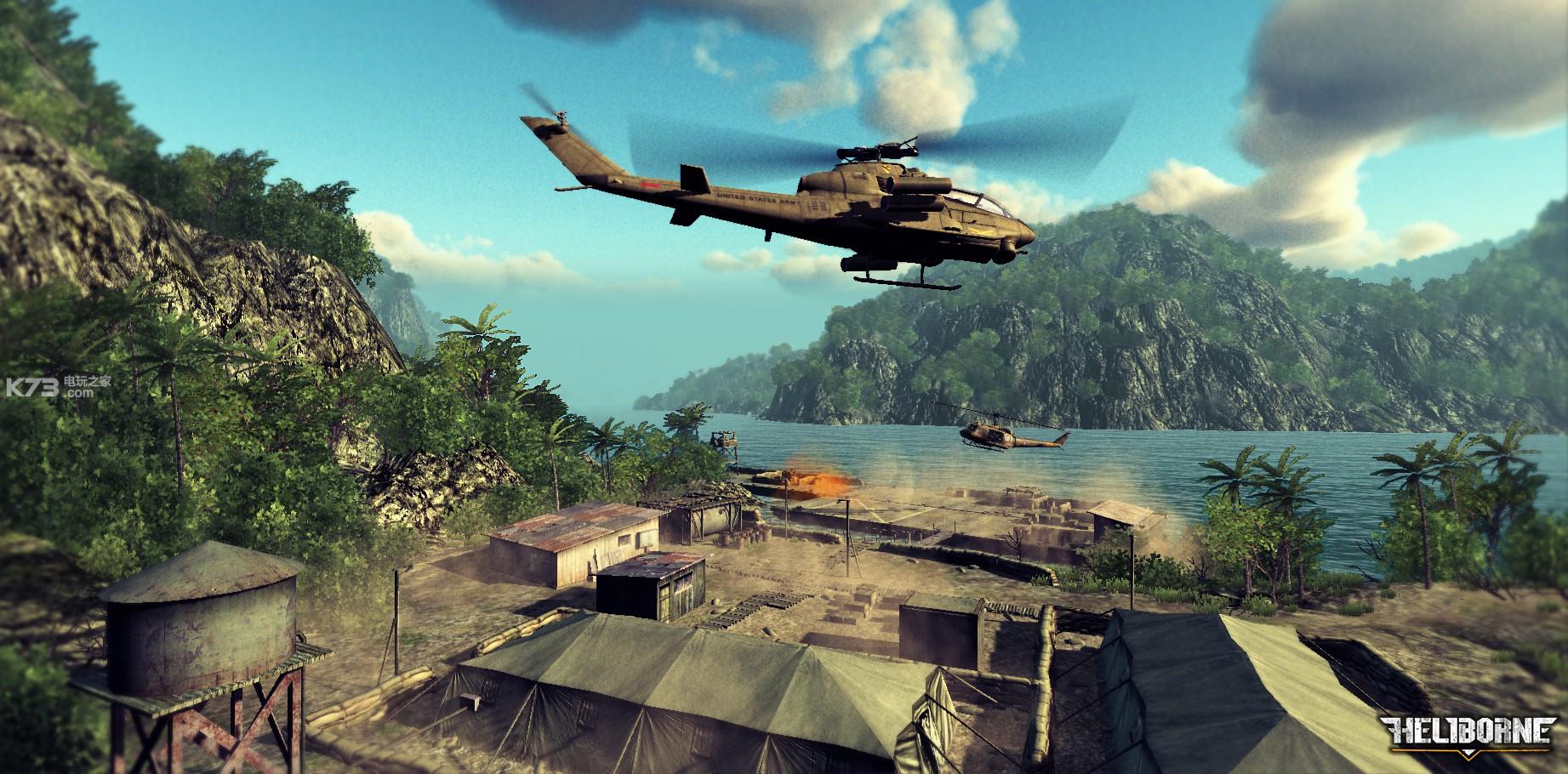 模拟直升机单机游戏_直升机突击硬盘版下载-k73游戏之家