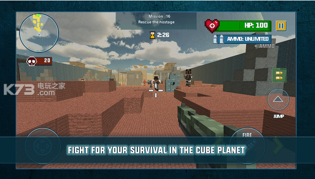 Cube Planet Mass Survival v1.1 下载 截图