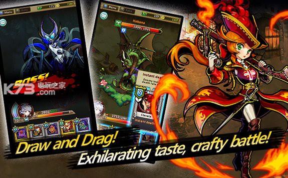 怪物之路卡片rpg 极品卡组版 截图