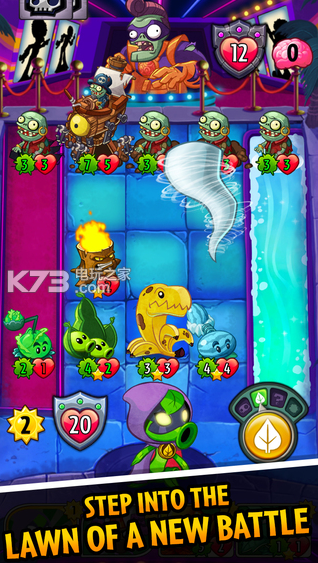植物大戰僵尸英雄 植物破解版下載 截圖