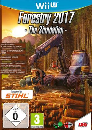 wiiu 模拟林业2017欧版预约