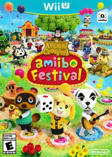 动物之森Amiibo节日美版